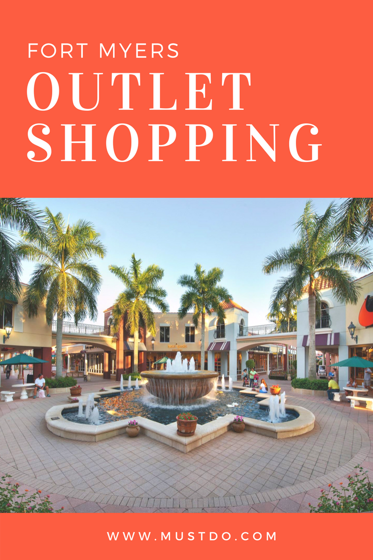 If you love designer names but don't like the prices, you'll appreciate the Outlet Shops at Fort Myers. Here's where to find up to 70% discount on top brands!