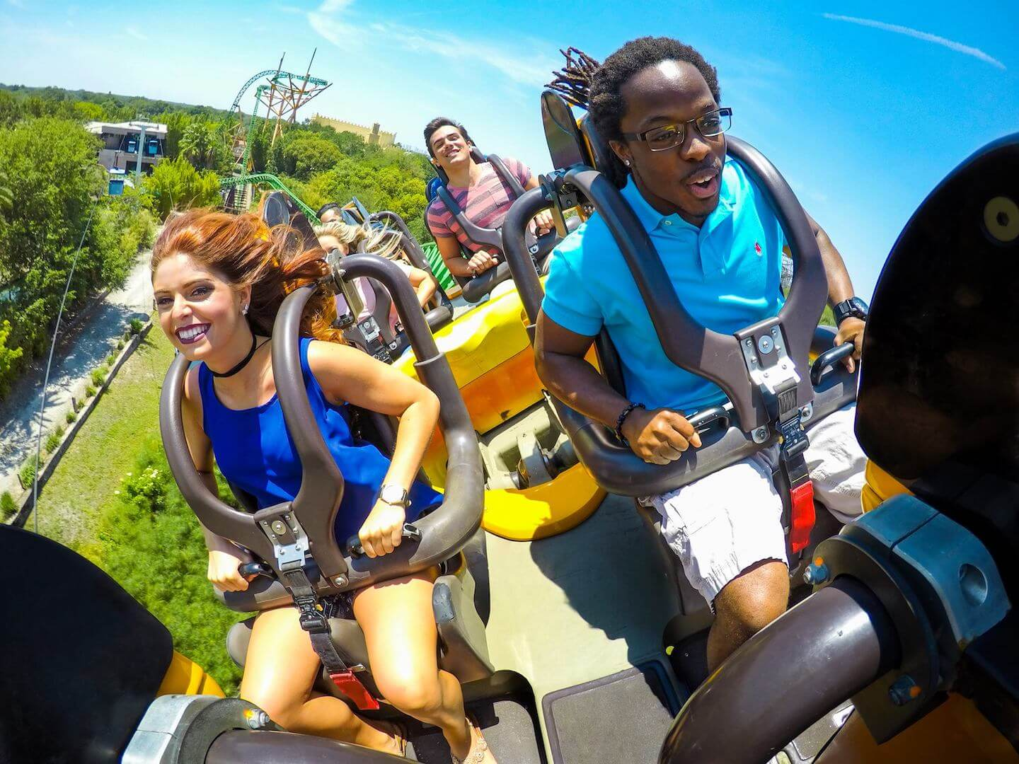 Thrilling amusement rides and rollercoasters at Busch Gardens Tampa, Florida. Must Do Visitor Guides, MustDo.com