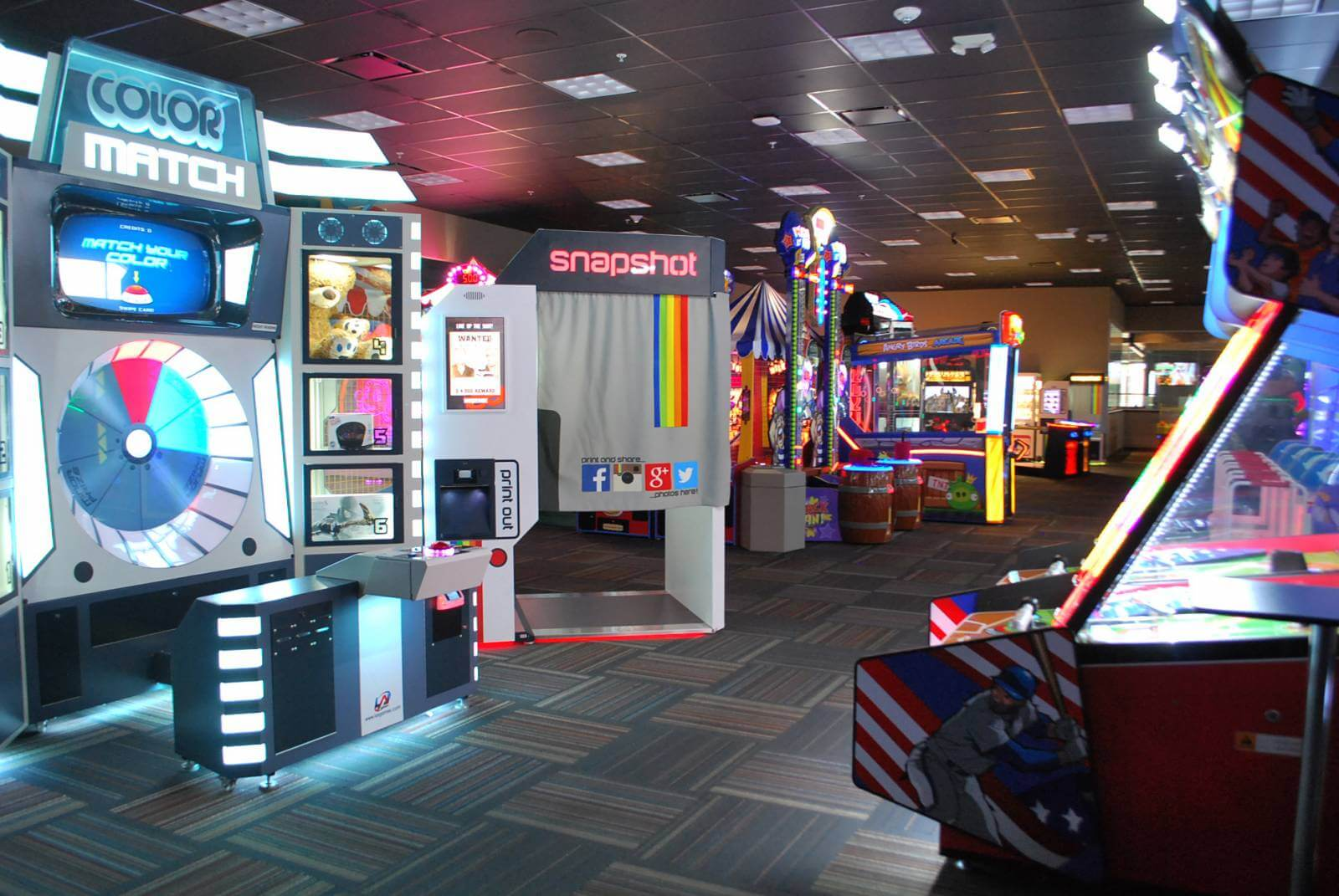 GameTime Fort Myers is loaded with fun video arcade games for all ages.
