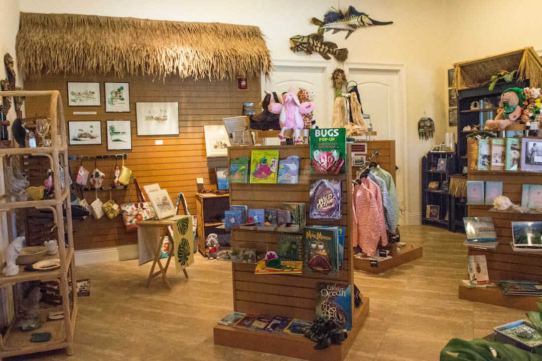 Souvenir and gift shop at the Marco Island Historical Museum in Marco Island, Florida. Photo by Debi Pittman Wilkey.