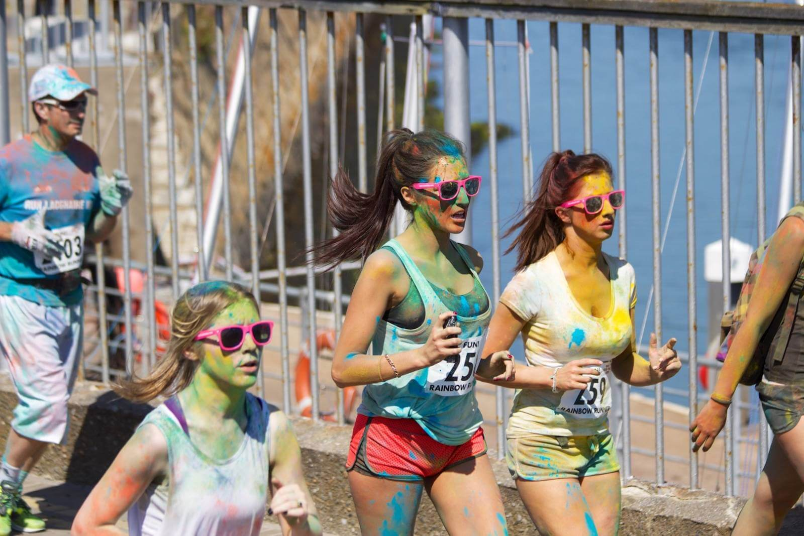 Colors marathon run Ways to Stay Fit on Vacation