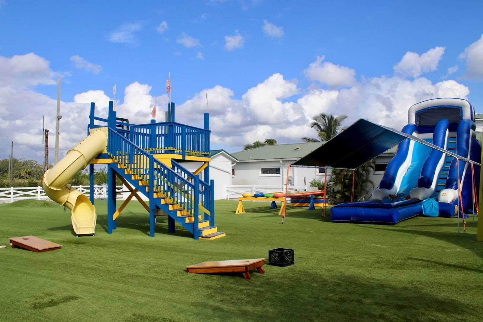 Mixon Fruit Farms family activities and playground, Bradenton, Florida. Photo by Nita Ettinger. Must Do Visitor Guides,
