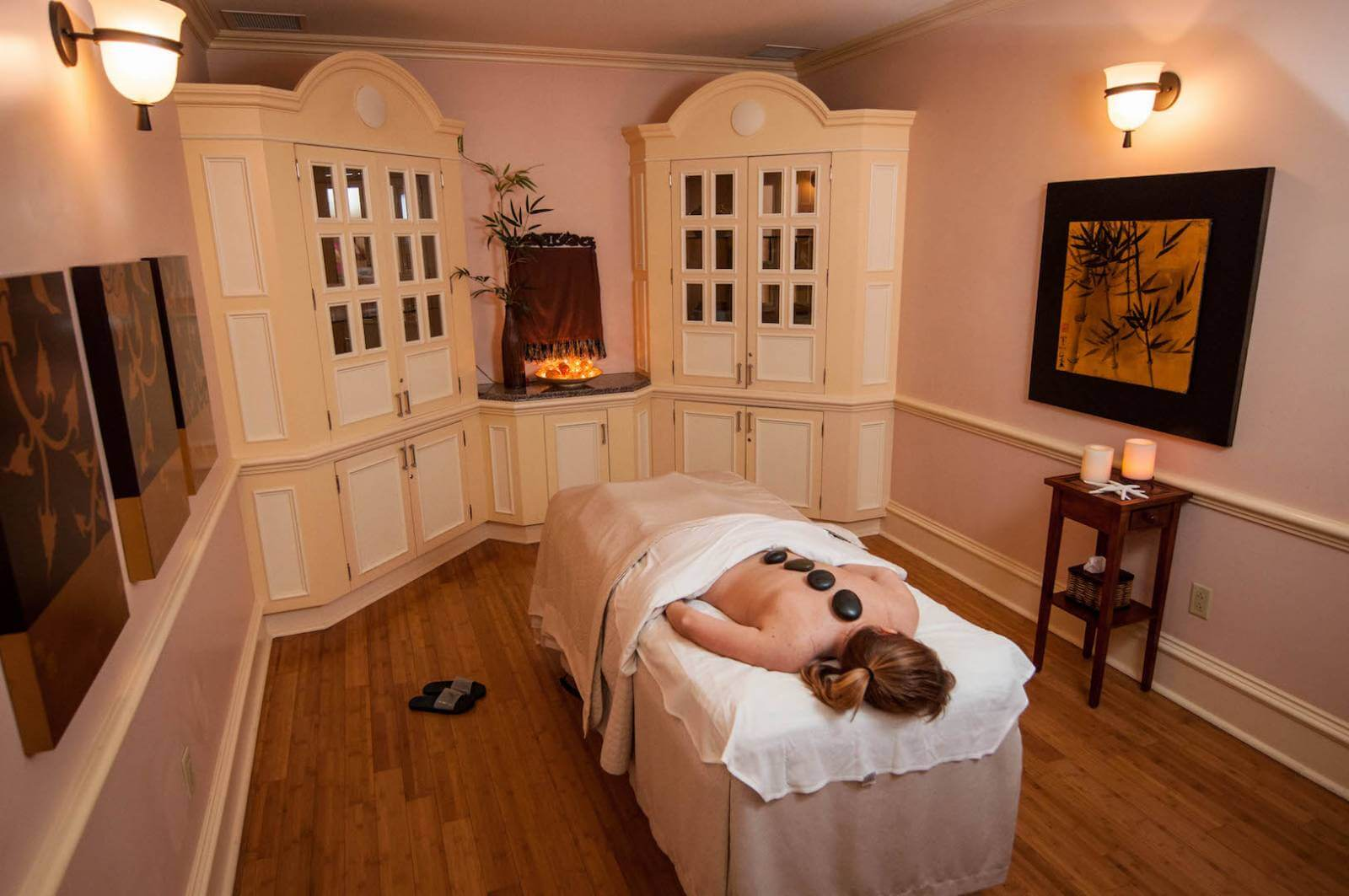 Enjoy a relaxing spa treatment on a girls weekend getaway trip to Naples, Florida. Photo by Debi Pittman Wilkey. Must Do Visitor Guides, MustDo.com.