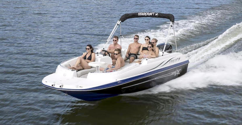 Fort Myers Beach Sea & Sun boats range from 20 to 30 feet and can accommodate up to 16 passengers. All rental boats have bimini tops for sun protection. Fort Myers, Florida. Must Do Visitor Guides, MustDo.com
