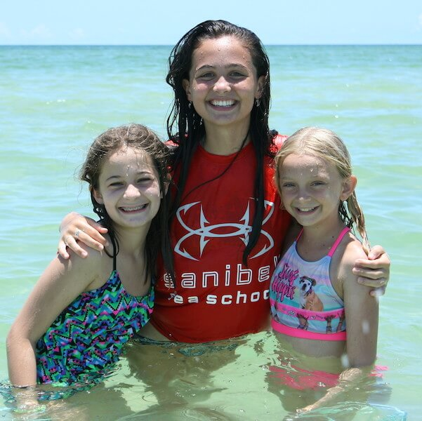 Sanibel Sea School half and full-day, weekly summer and holiday camps, sea-based activities for children, teens, adults, and families on Sanibel and Captiva Islands, near Fort Myers, Florida. Must Do Visitor Guides, MustDo.com