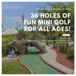 Coral Cay Adventure Golf in Naples, Florida promises fun for all ages on two miniature golf courses. Must Do Visitor Guides travel tips and things to do in Southwest Florida.
