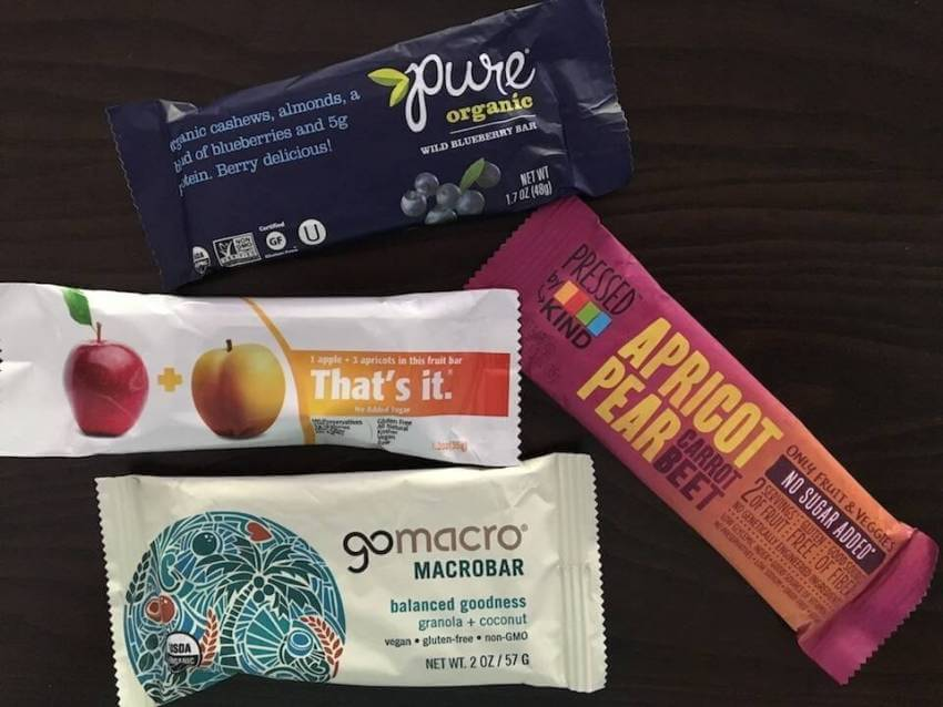 Snack bars that are low on sugar and high in protein are a must for a healthy road trip snack. Must Do Visitor Guides | MustDo.com