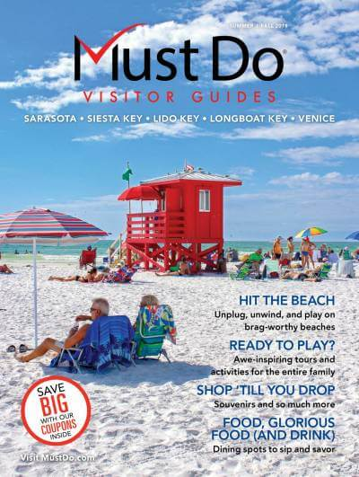 Sarasota Must Do Visitor Guides Summer_Fall 2018 Cover