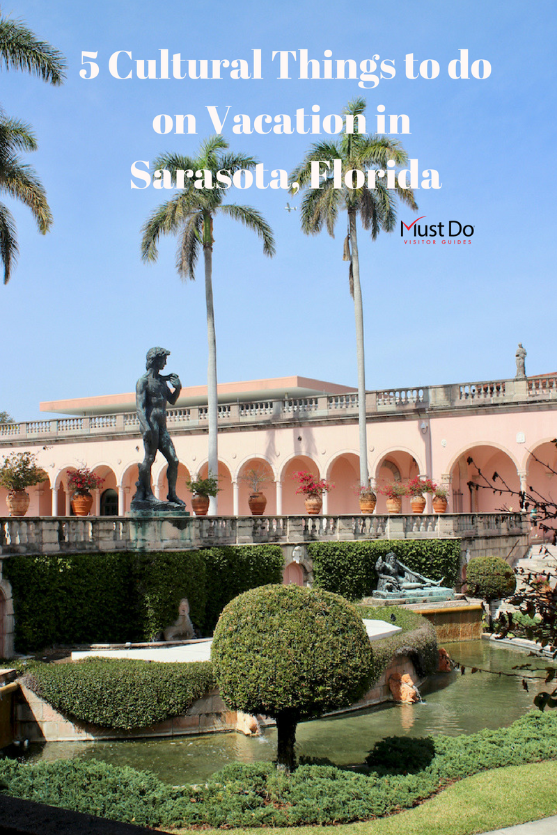 Sarasota, Florida's cultural attractions include art museums, theater, architecture, opera, symphony, and more. Here are 5 top cultural spots to explore. Must Do Visitor Guides | MustDo.com