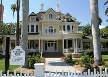 Tour the historic Burroughs Home and Gardens downtown Fort Myers, Florida. Must Do Visitor Guides | MustDo.com. Photo by Nita Ettinger