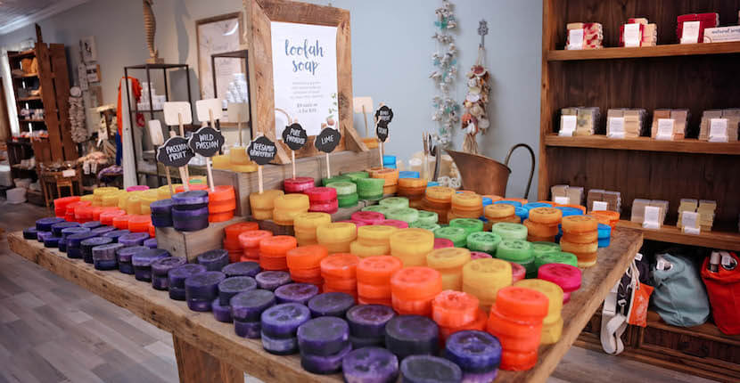 Naples Soap Company offers handmade natural bath and body products created with natural ingredients designed to relieve the symptoms associated with skin issues. Naples, Florida. Must Do Visitor Guides | MustDo.com