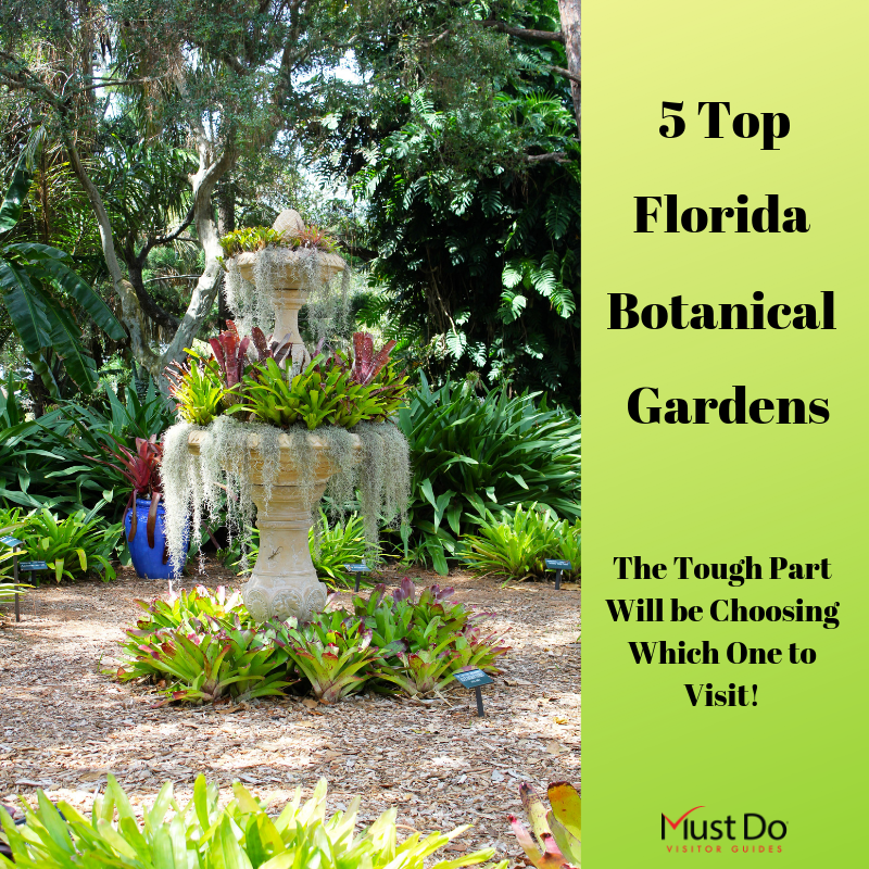 Florida's subtropical climate is ideal for showy blooms, orchids, and flowering trees. Here's our list of the best public gardens to visit in Southwest Florida. Must Do Visitor Guides | MustDo.com