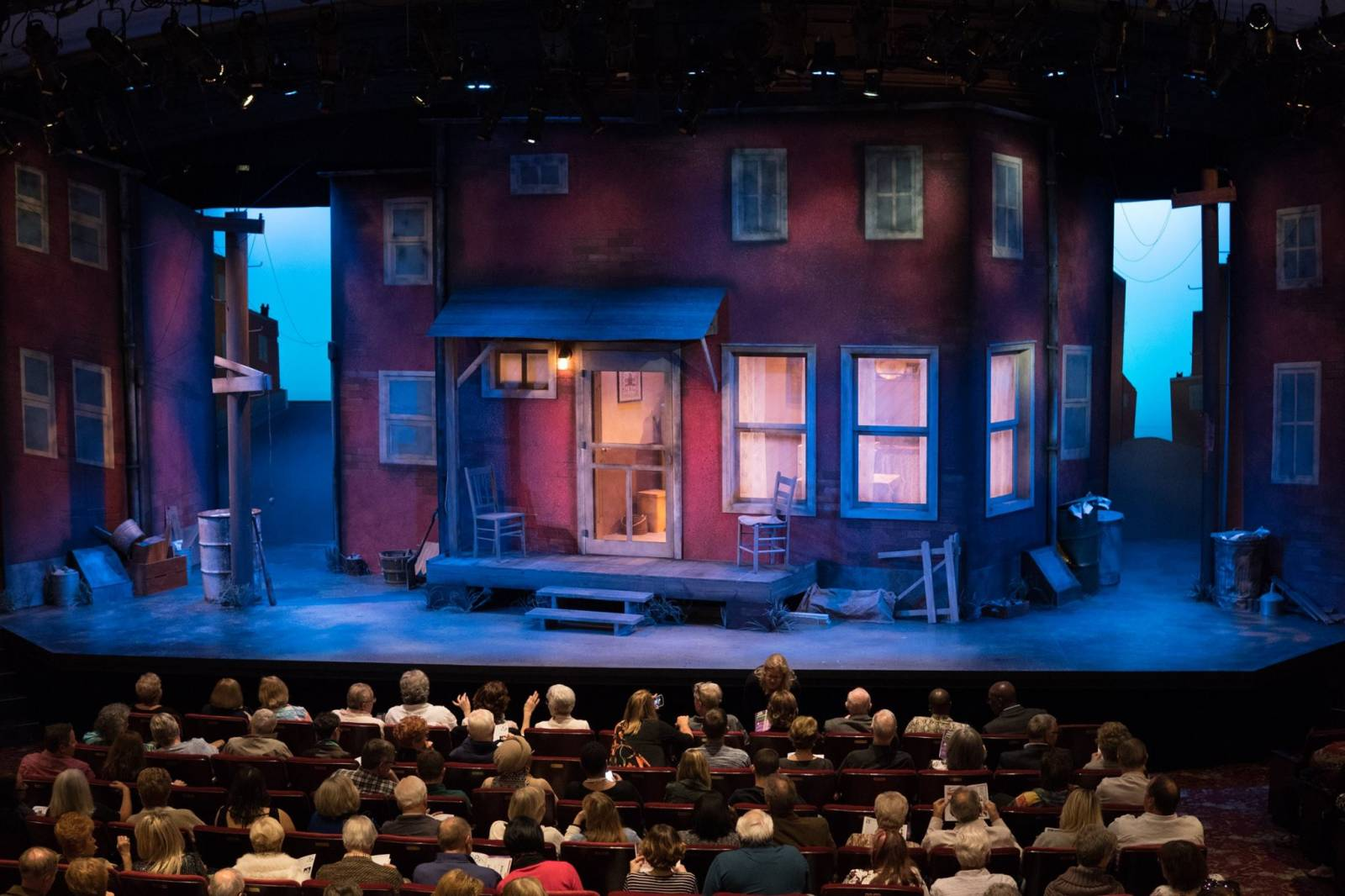 Florida Repertory Theatre in downtown Fort Myers is one of the top repertory theaters in the USA, this renovated gem has a full program including comedy and drama. Must Do Visitor Guides | MustDo.com.