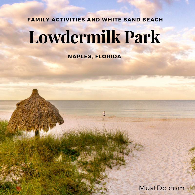 Fun activities at Lowdermilk Park and beach Naples, Florida. Photo by Jennifer Brinkman. Must Do Visitor Guides | MustDo.com