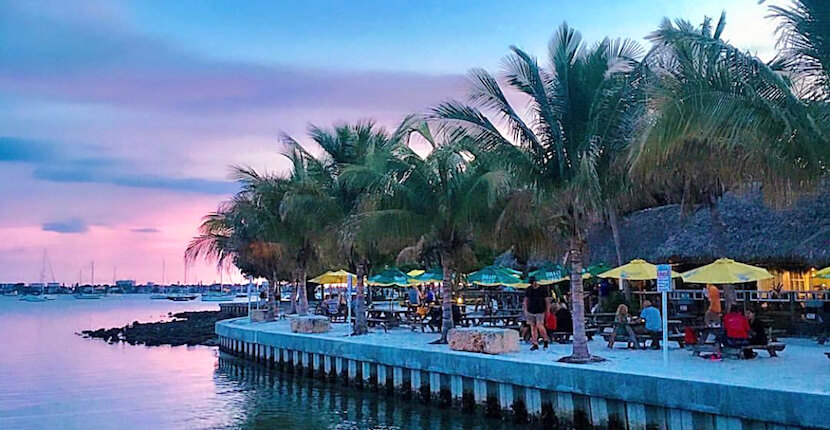 O'Leary's Tiki Bar & Grill is a laid-back, tropical-themed, family-friendly downtown Sarasota, Florida restaurant and bar that is located in Bayfront Park near Marina Jack and features live music daily. The restaurant is dog-friendly, plus you can arrive by car or boat! Must Do Visitor Guides | MustDo.com