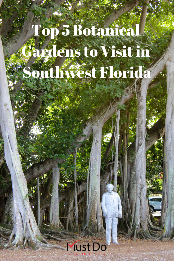 Edison & Ford Winter Estates in Fort Myers, Florida is one of the best public gardens in Southwest Florida. Must Do Visitor Guides. Photo by Nita Ettinger