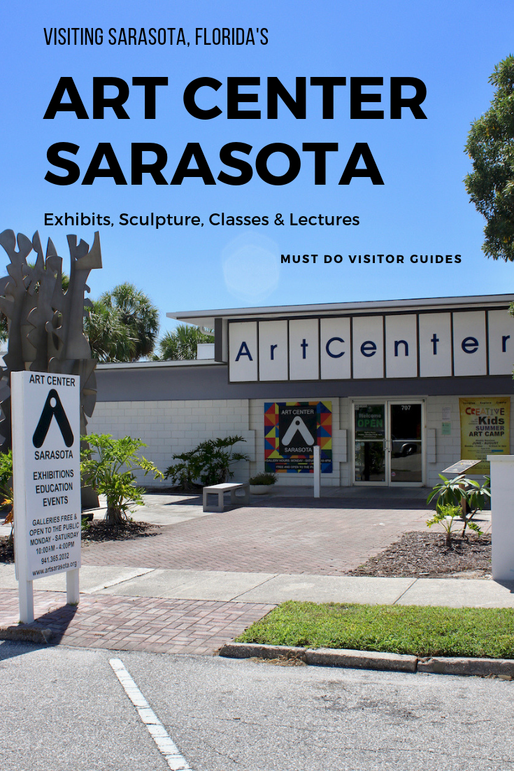 The thriving Art Center Sarasota in downtown Sarasota, Florida includes four exhibition galleries and a sculpture garden. Plan your visit. Must Do Visitor Guides | MustDo.com