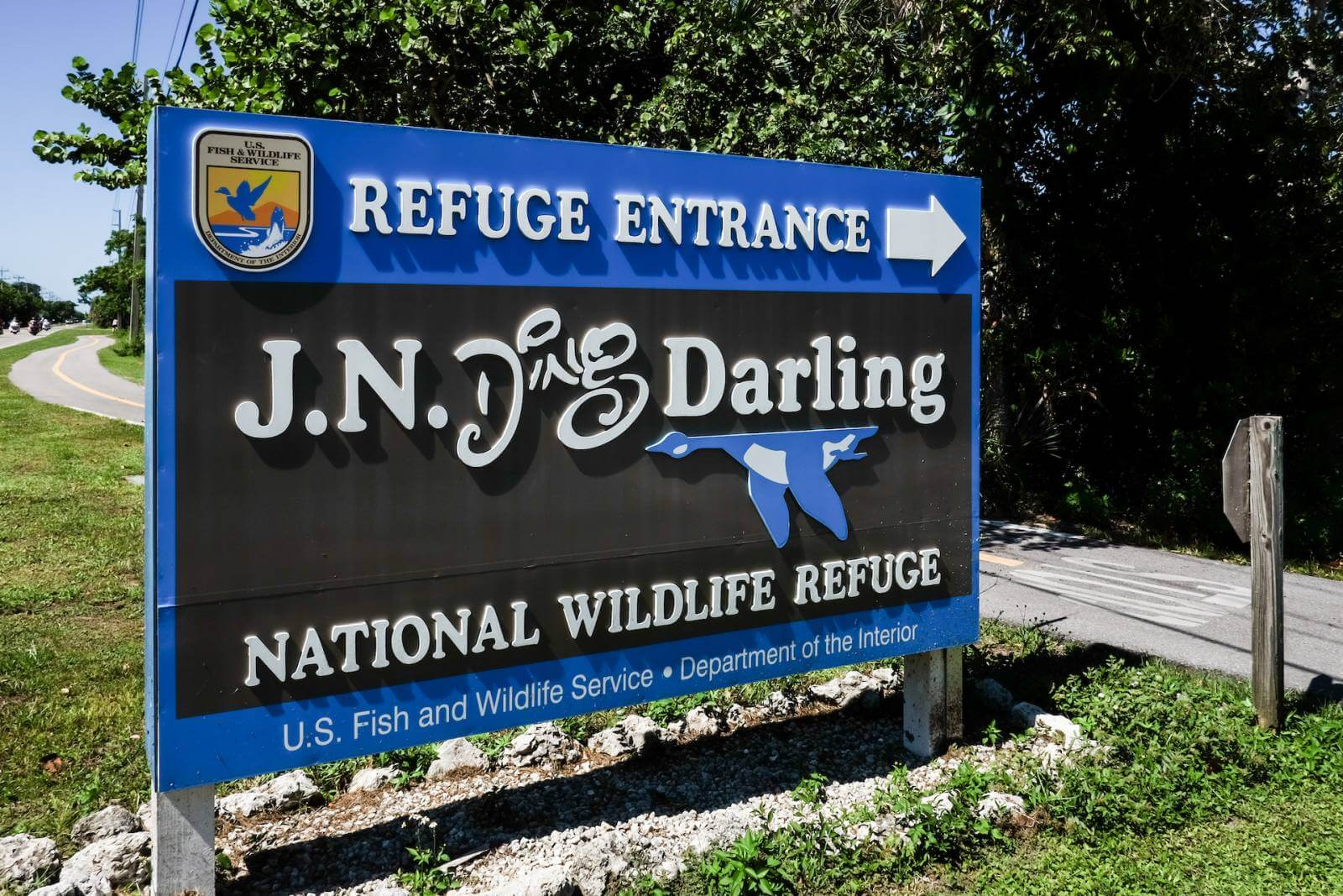 Tips for visiting J.N. Ding Darling National Wildlife Refuge on Sanibel Island, Florida. Photo by Mary Carol Fitzgerald. Must Do Visitor Guides | MustDo.com