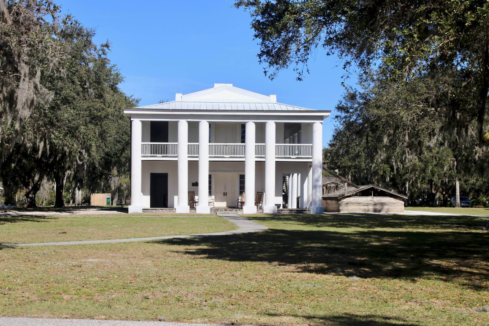 Visit one of 5 top historic homes in Southwest Florida. The Gamble Plantation in Ellenton is an easy day trip from Sarasota, Florida. The antebellum mansion is the only surviving plantation home in South Florida and was once the headquarters of an extensive sugar plantation. Must Do Visitor Guides | MustDo.com. Photo by Nita Ettinger