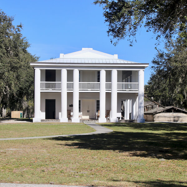 The Gamble Plantation in Ellenton is an easy day trip from Sarasota, Florida. The antebellum mansion is the only surviving plantation home in South Florida and was once the headquarters of an extensive sugar plantation. Must Do Visitor Guides | MustDo.com.