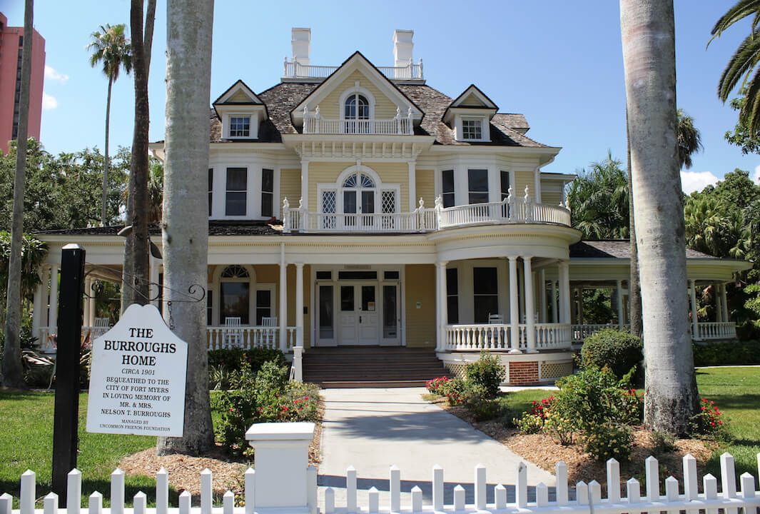 Tour the historic Burroughs Home and Gardens downtown Fort Myers, Florida. The home is one of the top historic homes in Southwest Florida.Photo by Nita Ettinger. Must Do Visitor Guides | MustDo.com.