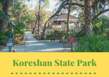 Tips for visiting Koreshan State Park near Fort Myers and Naples Florida. Photo credit Jennifer Brinkman. Must Do Visitor Guides | MustDo.com