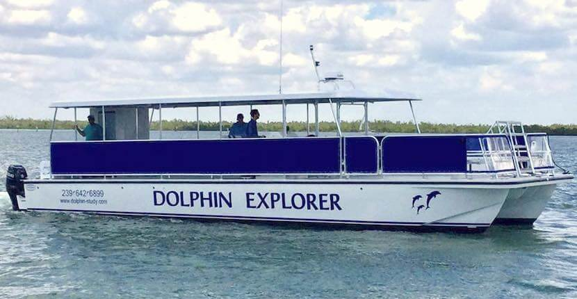 Take a unique dolphin cruise for a memorable family vacation experience aboard the 45-passenger catamaran, Dolphin Explorer. Join a survey crew aboard the Dolphin Explorer's twice daily, three-hour expedition in sighting and studying the bottlenose dolphins of Southwest Florida. The 10,000 Island Dolphin Project is the only ongoing study of wild dolphins in Southwest Florida. CNN Travel wrote a story about ten places that can change a child's life and include The Dolphin Explorer on the list. Must Do Visitor Guides, MustDo.com.