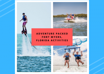 Flyboarding, boating, parasailing - Adventure packed Fort Myers, Florida activities. Must Do Visitor Guides