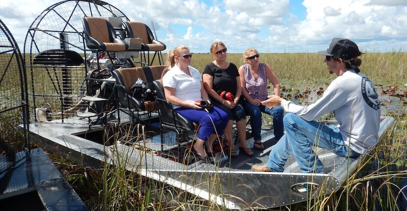 One-of-a-kind private or semi-private airboat rides and tours with an opportunity to see a variety of birds, snakes, fish, alligators, bobcat and more just minutes from Naples, Florida.