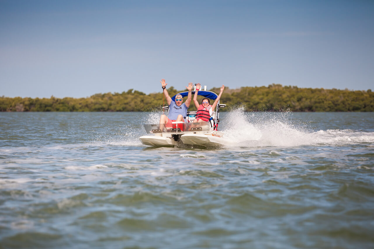 Experience the natural beauty of Naples and Marco Island, Florida with an exciting Craig-cat eco-boat tour.