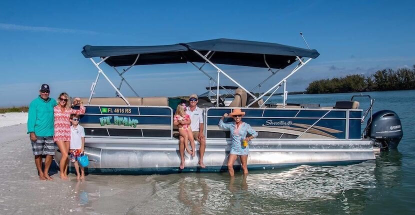 MustDo.com | Take a private pontoon boat cruise with Cool Beans Cruises in Naples and Marco Island, Florida.