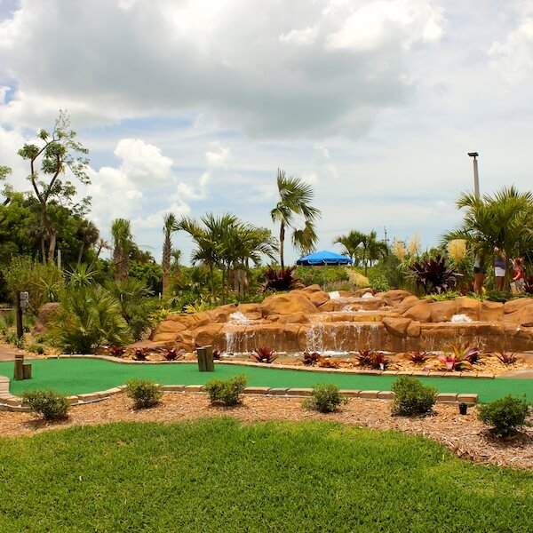 Marco Golf & Garden Marco Island, Florida. Enjoy a game of miniature golf on this fun but challenging 18-hole mini golf course set in an award-winning tropical garden.