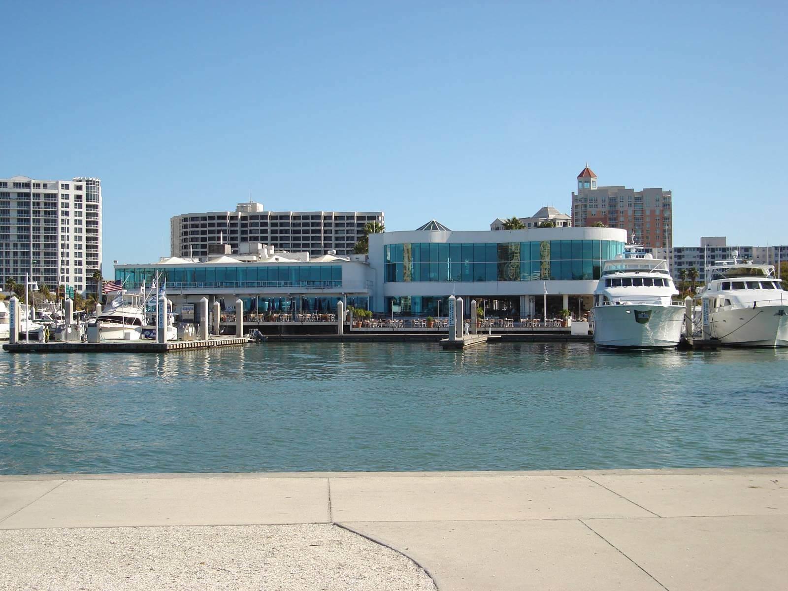 Marina Jack downtown Sarasota, Florida waterfront restaurant and bar.
