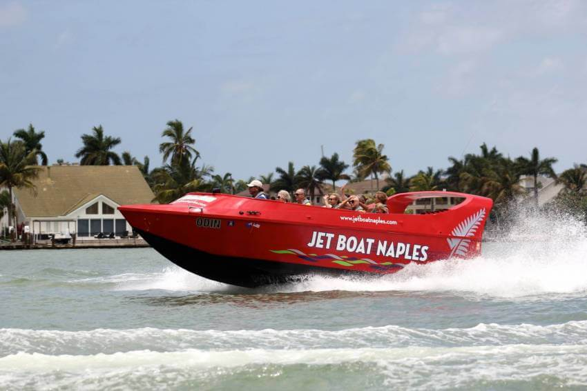 Experience the natural beauty of Naples and Marco Island, Florida with an exciting Pure Florida Jet Boat thrill ride and sightseeing tour.