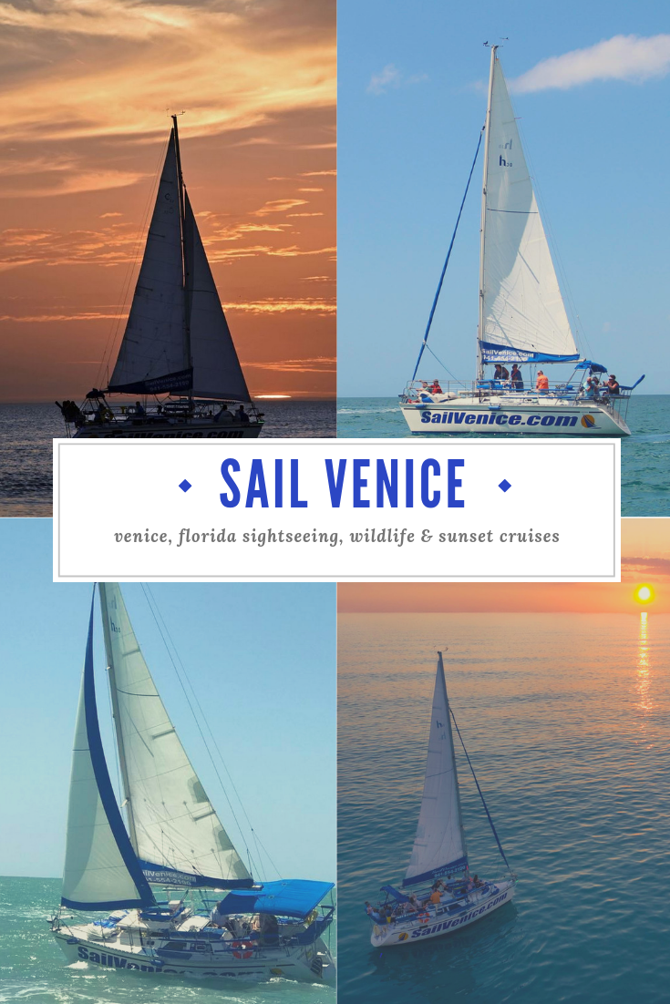 Sail Venice sunset and Gulf of Mexico sailing cruises. Venice, Florida sightseeing, wildlife & sunset cruises.