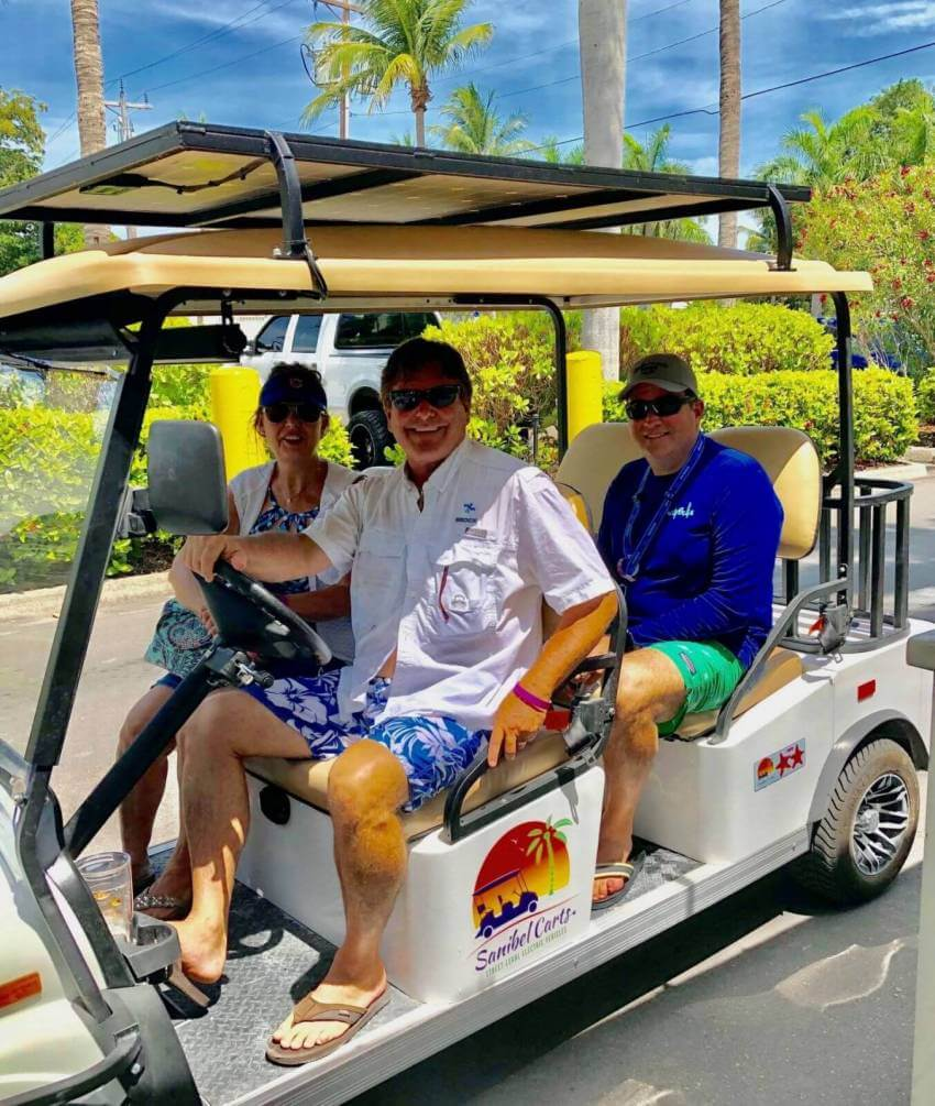 Sanibel Carts, the eco-friendly way to get around Sanibel Island, Florida! Must Do Visitor Guides