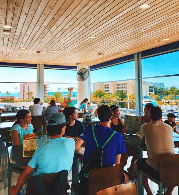 South Siesta Key Daiquiri Deck Raw Bar and restaurant Sarasota, Florida.