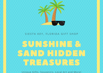 Sunshine & Sand Hidden Treasures an affordable assortment of unique and handcrafted Siesta Key, Florida gifts and souvenirs as well as local art and coastal-themed home decor. Must Do Visitor Guides | MustDo.com