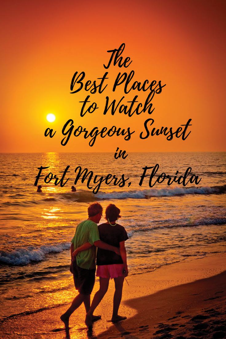 The Best Places to Watch a Gorgeous Sunset in Fort Myers, Florida.