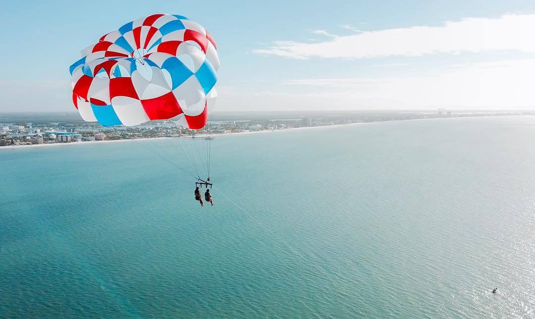 Make your Fort Myers or Sanibel Island, Florida vacation truly memorable with a thrilling flight over Fort Myers Beach with Estero Island Parasail.