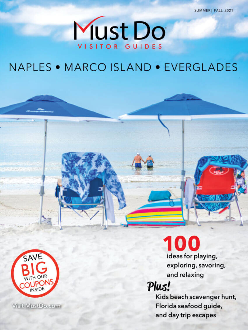 Naples, Marco Island, Everglades Must Do Visitor Guides magazine cover.