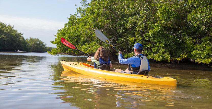 Siesta Key kayak rentals and tours with Ride & Paddle in Siesta Key, Florida