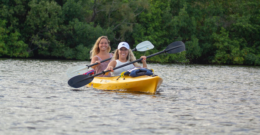 Siesta Key kayak rentals and tours with Ride & Paddle in Siesta Key, Florida