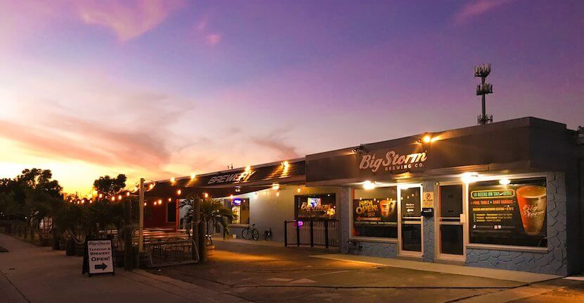 Big Storm Brewery is an award-winning craft beer brewery and taproom in Cape Coral, Florida and close to downtown Fort Myers and Ft. Myers Beach features 16 taps, wine, cider, hand-crafted soda, and bar bites.