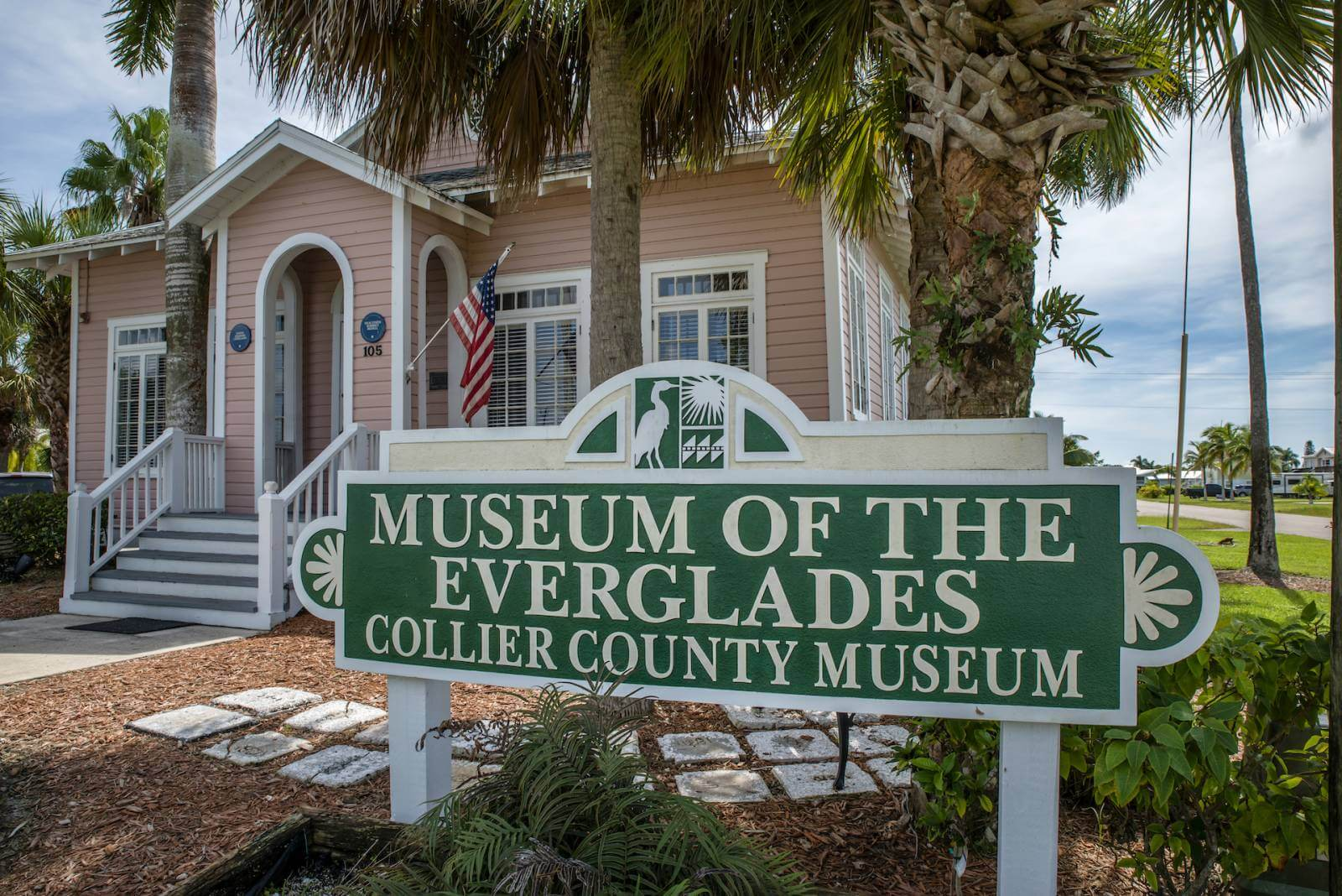 Museum of the Everglades Collier County Museum in Everglades City, Florida.