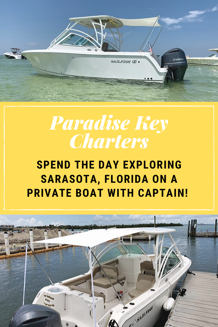 Paradise Key Charters. Spend the day exploring Sarasota, Florida on a private boat with captain!