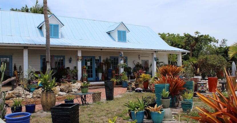 Beach Pottery gifts and souvenirs Fort Myers Beach, Florida.