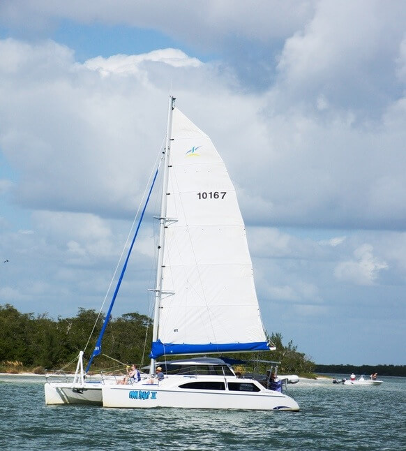 Cool Beans Cruises family fun catamaran sailing tours and charters in Marco Island, Florida.