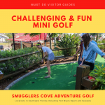 Smuggler's Cover Adventure Golf in Fort Myers and Sarasota, Florida is a fun mini golf course for kids and adults. Photo by Laurén Ettinger. Must Do Visitor Guides | MustDo.com