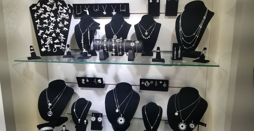 Tropical Jewelry in Fort Myers Beach, Florida offers a dazzling selection of sterling silver and 14K gold designs for men and women.